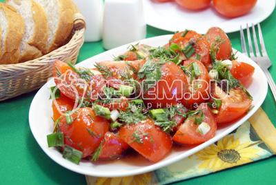 Салат из помидоров «Томато»