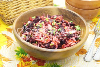 Салат со свёклой «Барин»