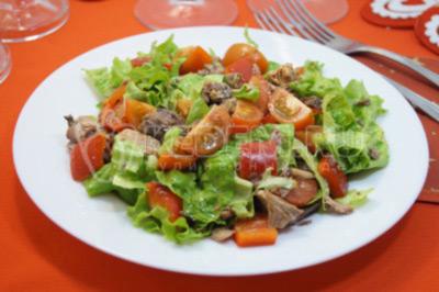 Салат с тунцом «Венеция»