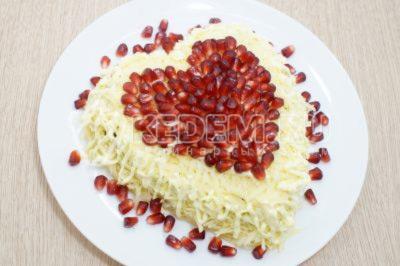 Салат «Влюбленный Валентин»