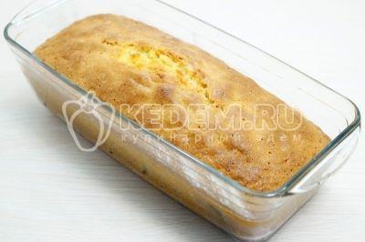 Кекс с изюмом в духовке