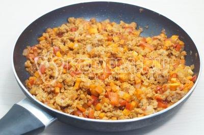Запеканка с фаршем и рисом в духовке
