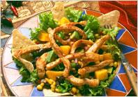 Салат из индейки по-мексикански