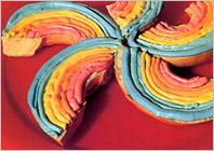 Радужные бутерброды – оригинальный рецепт приготовления бутербродов для детей, детская кулинария