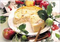 Яблочный чизкейк
