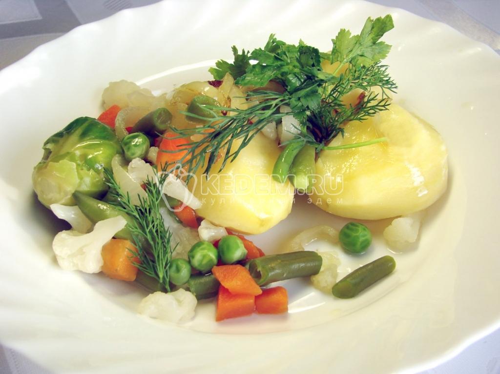 Блюда из вареных овощей рецепт и