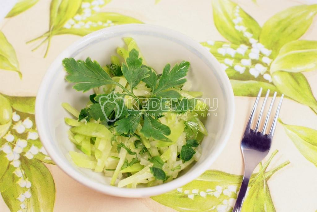 Рецепты салатов на зиму из овощей