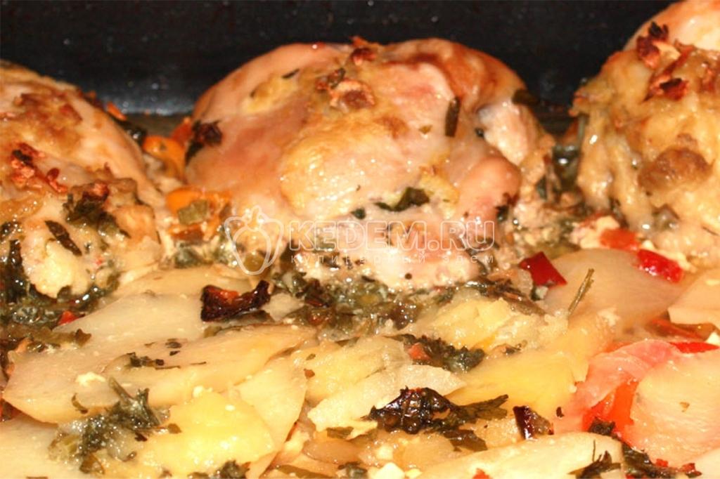 Приготовить простое блюдо из курицы