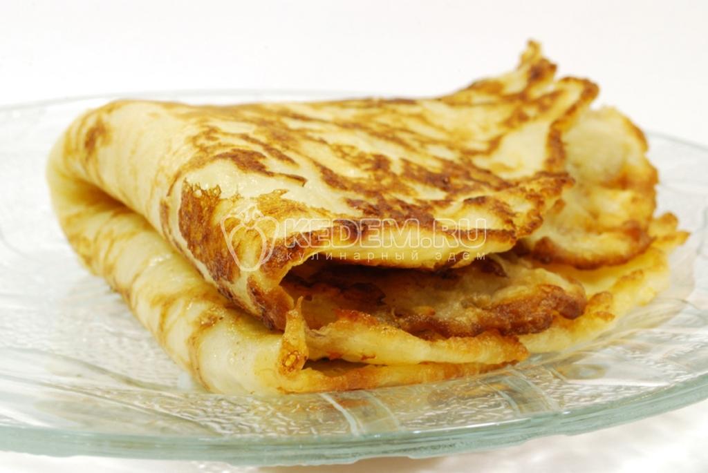 рецепт блинов с сыром с фото