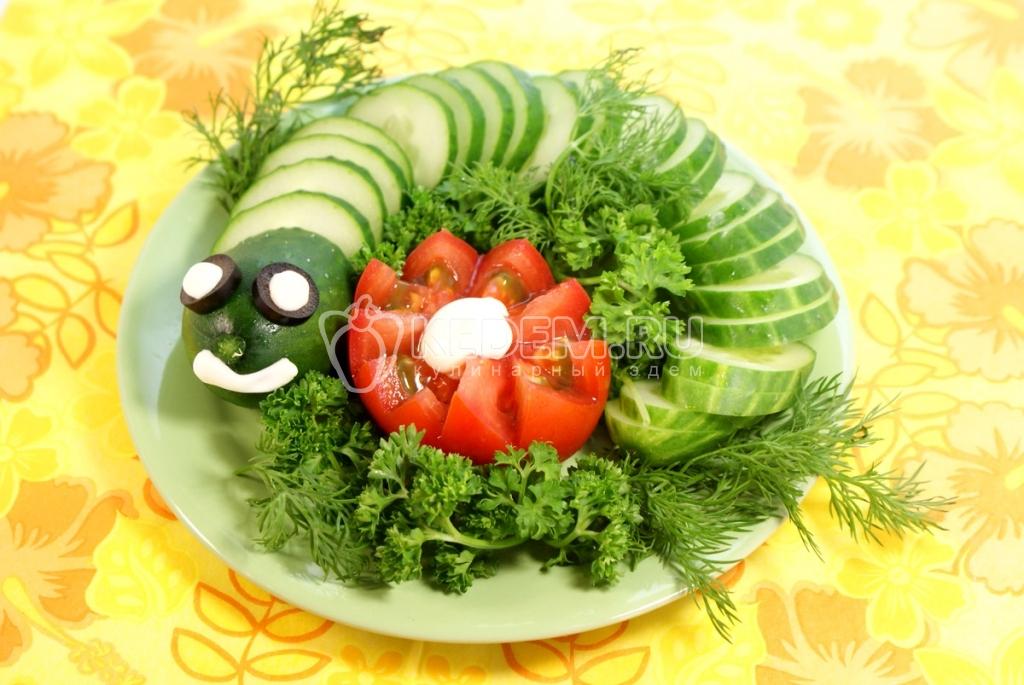 Овощи для ребенка рецепт