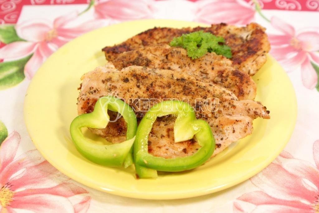 Антрекот из свинины в духовке в рукаве рецепт с фото