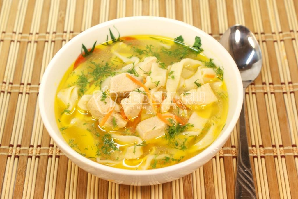 рецепт приготовления суп лапша куриная рецепт