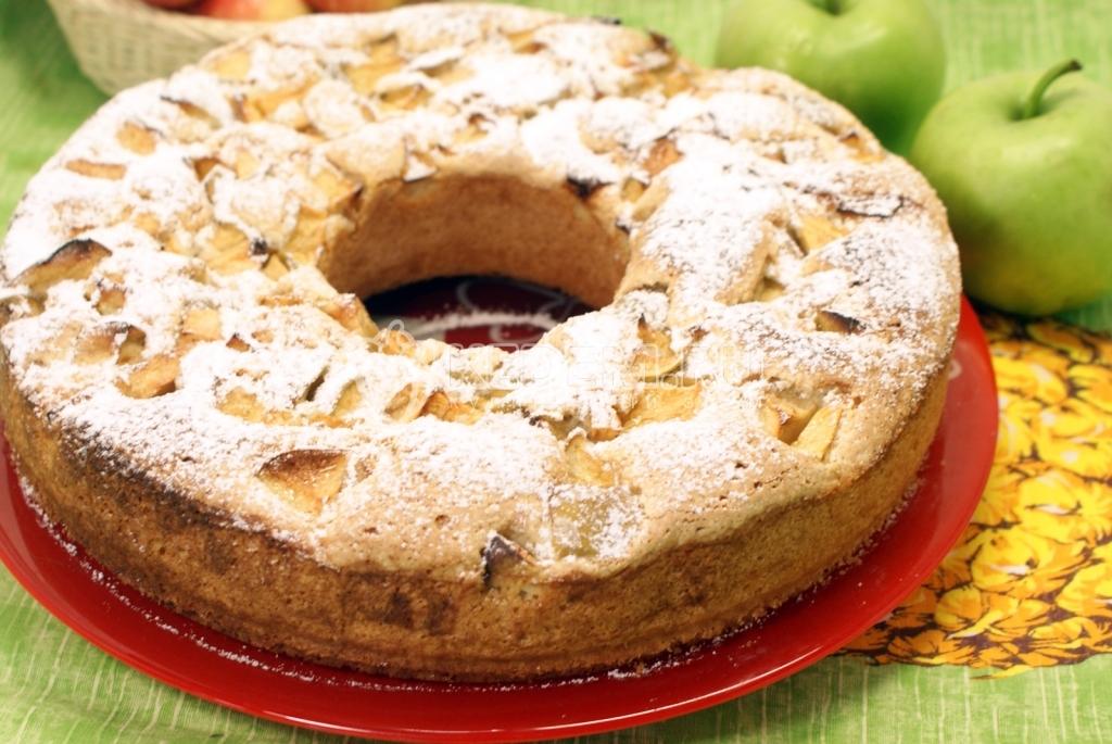 красивые пироги с яблоками рецепт #11
