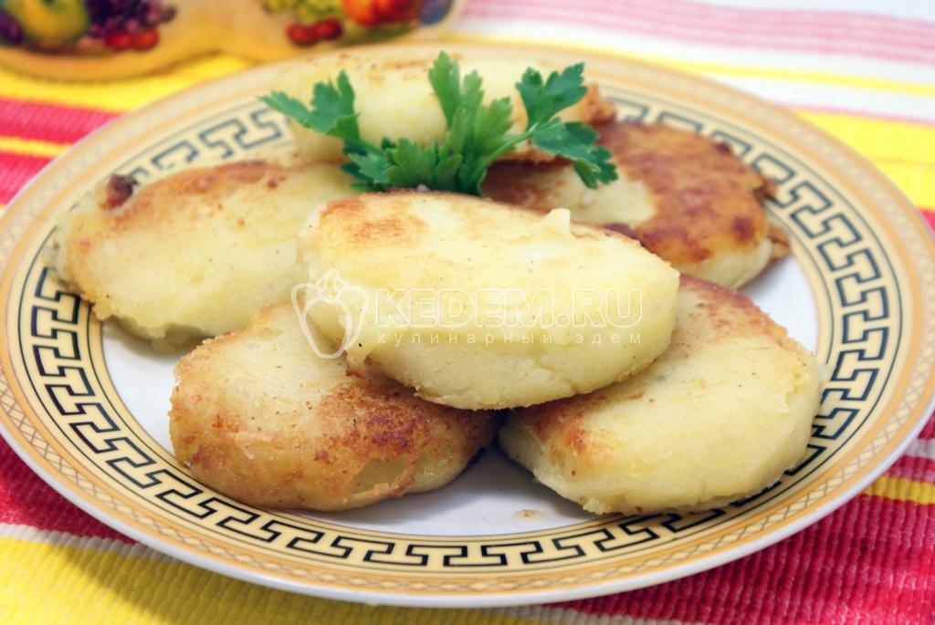 картофельные котлеты с манкой рецепты