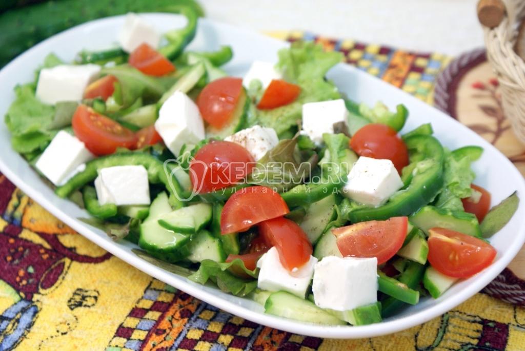 Овощные салаты большие