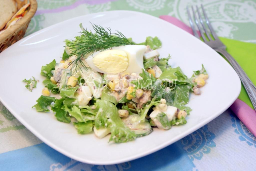 салат с тунцом рецепт с фотов форме рыба