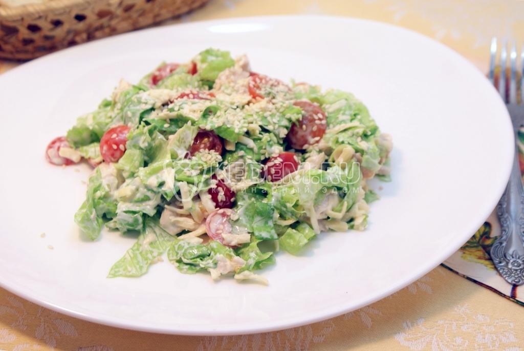 Салаты с курицей всех салатов простые рецепты