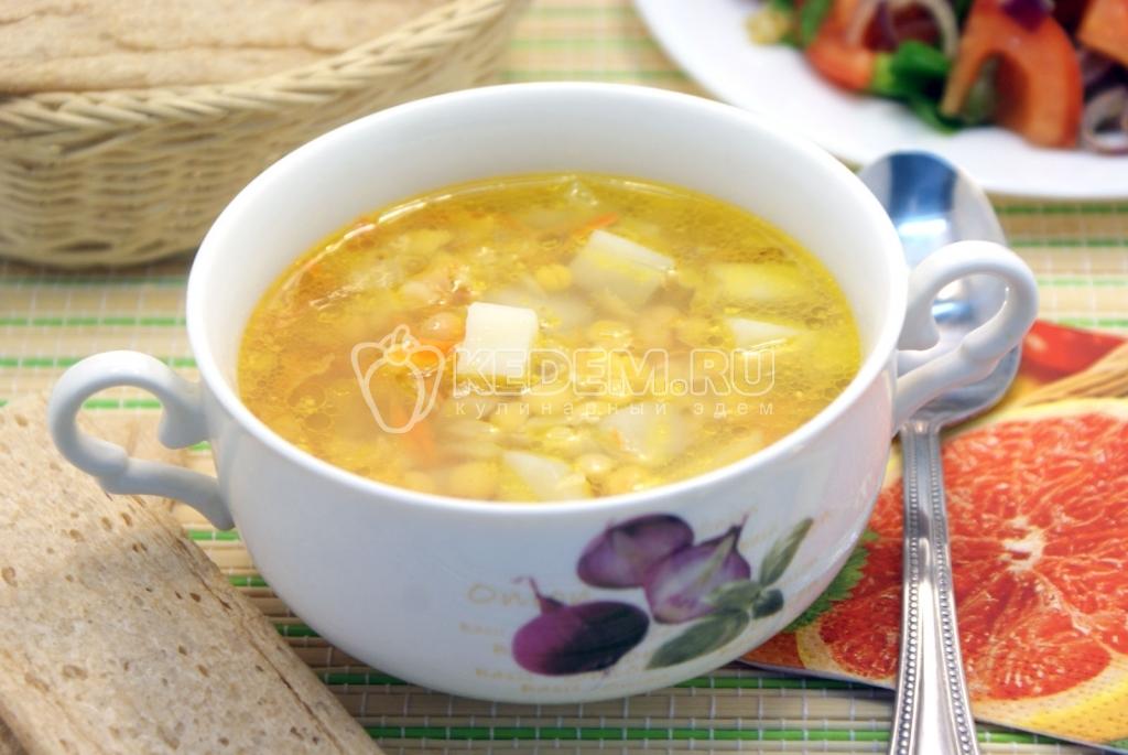 гороховый суп на зиму в банках рецепты с фото