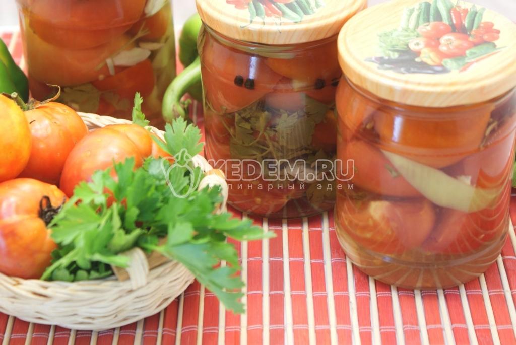 закрыть салат из помидор на зиму рецепты