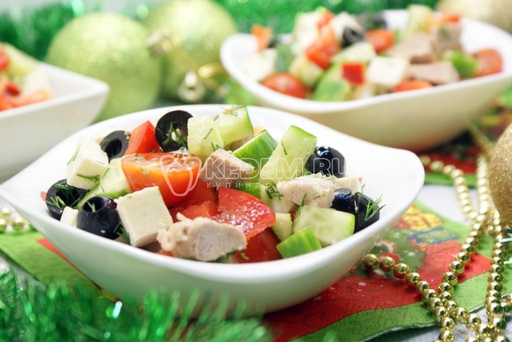 Салаты овощные на новый год 2017 рецепты