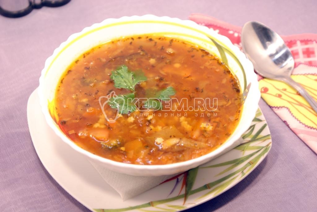 рецепты вегетарианских супов с фото простые