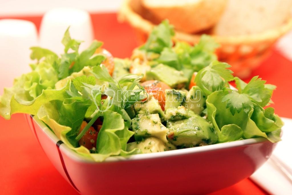Салат из авокадо рецепт очень