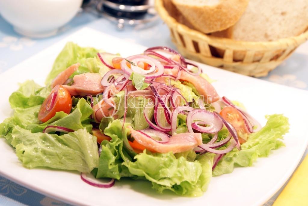 опыте салат из красной рыбы саленой ряду морфофункциональных