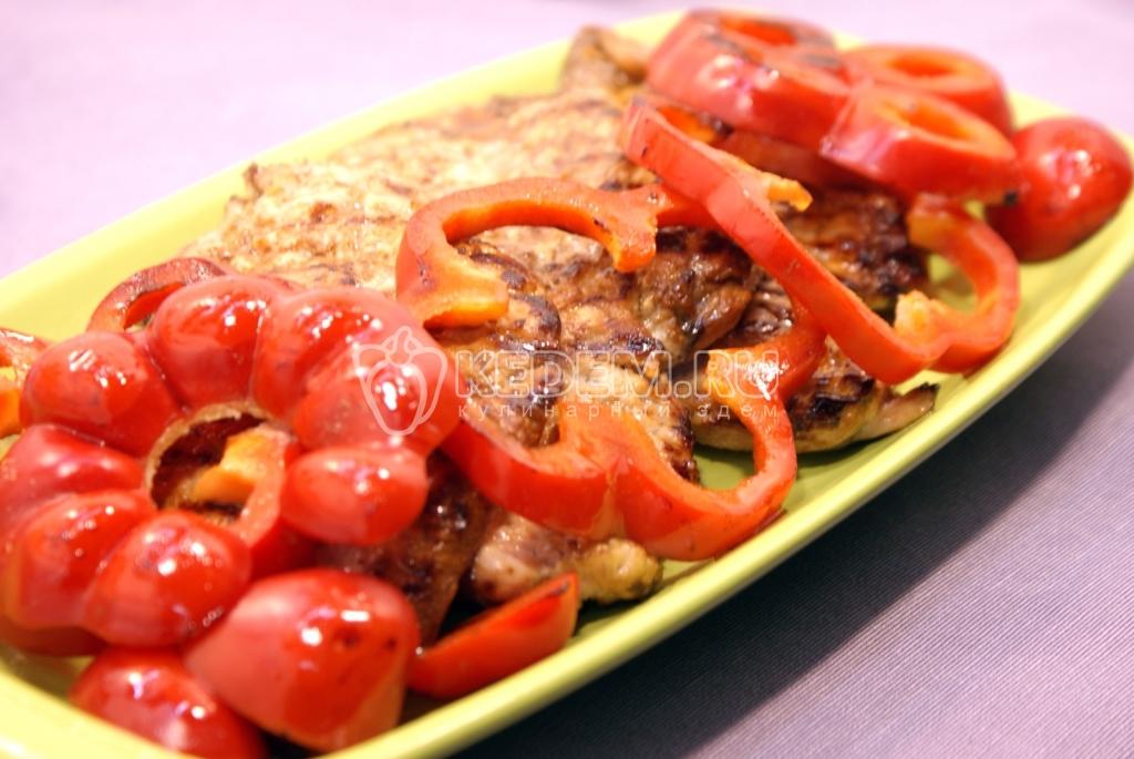Украшение блюд болгарским перцем