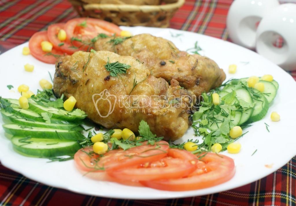рецепты из курицы в духовке рулетики с
