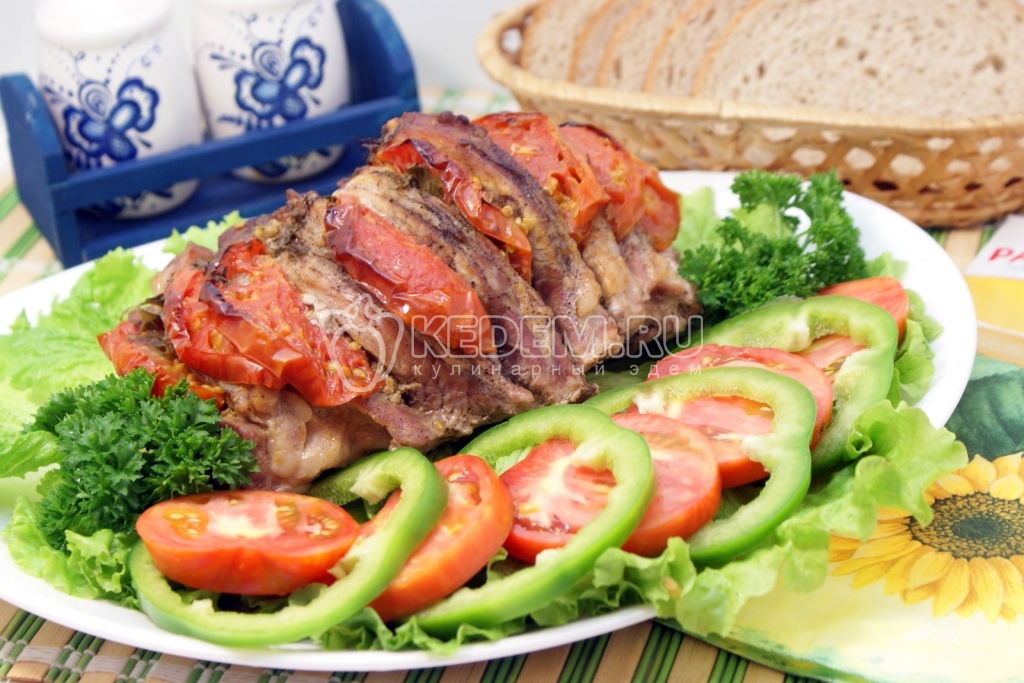 быстрые рецепты из мяса в духовке рецепты с фото