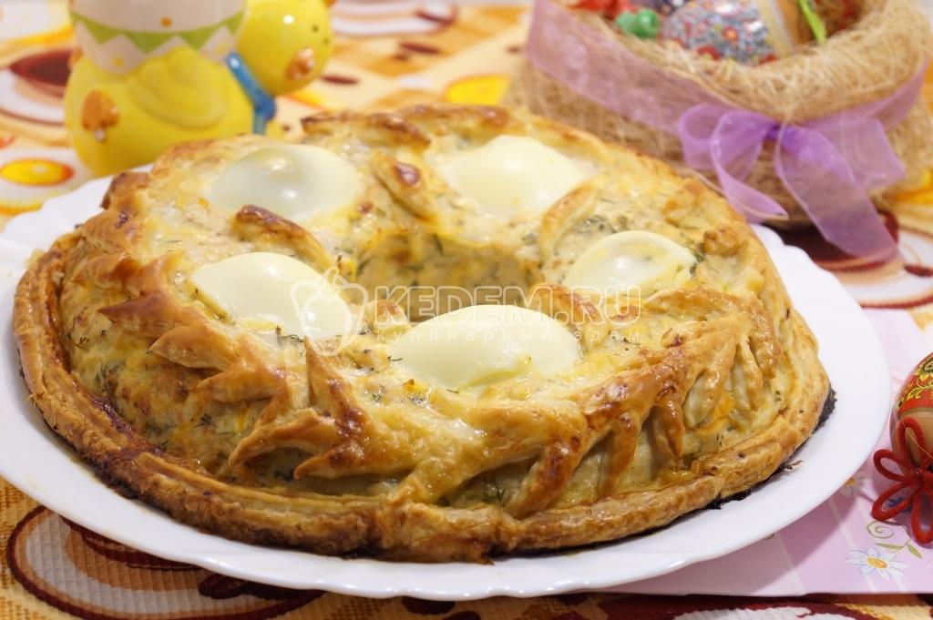 Пирог пасхальный