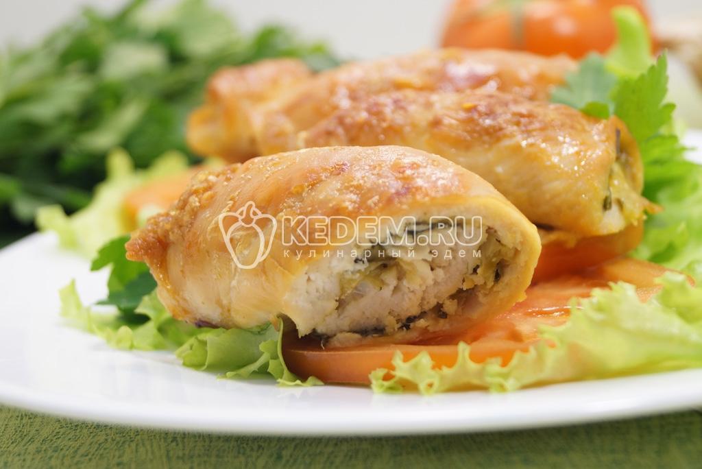 Рулеты с сыром и чесноком пошаговый рецепт