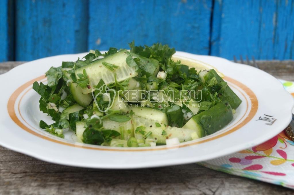 Салат из огурцов на зиму - пошаговый рецепт с фото на Повар.ру