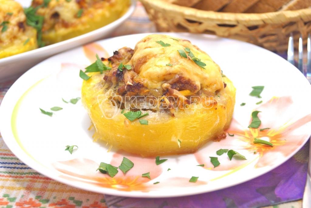 Блюда из кабачка и фарша рецепты в духовке