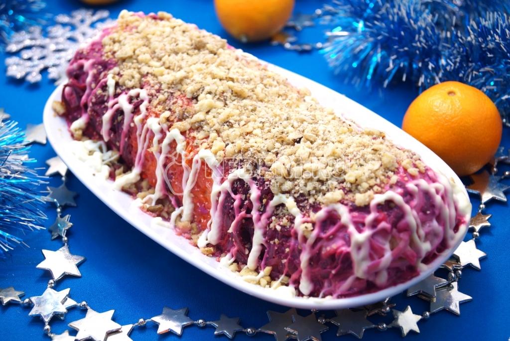 необычные салаты рецепты с фото на праздничный