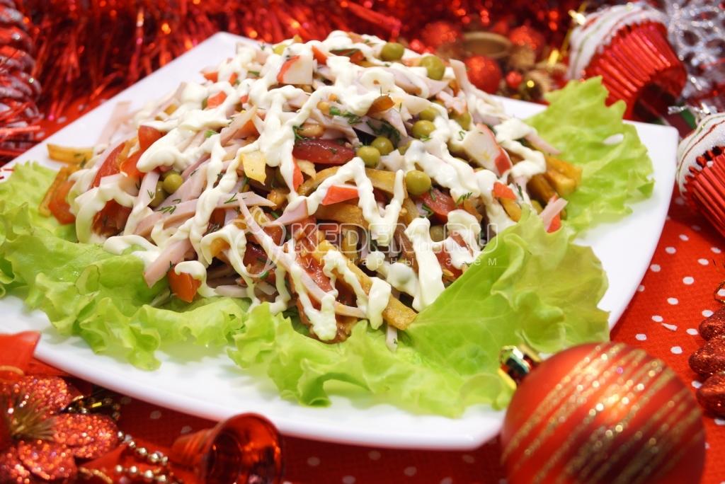 Салат и вкусные закуски рецепт