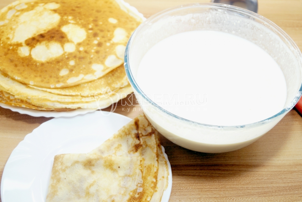вкусные блинчики на молоке.пошаговый рецепт с фото