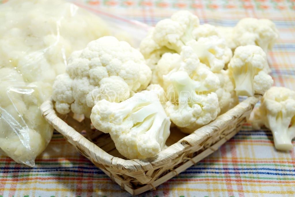 Рецепт вкусной цветной капусты на зиму с фото