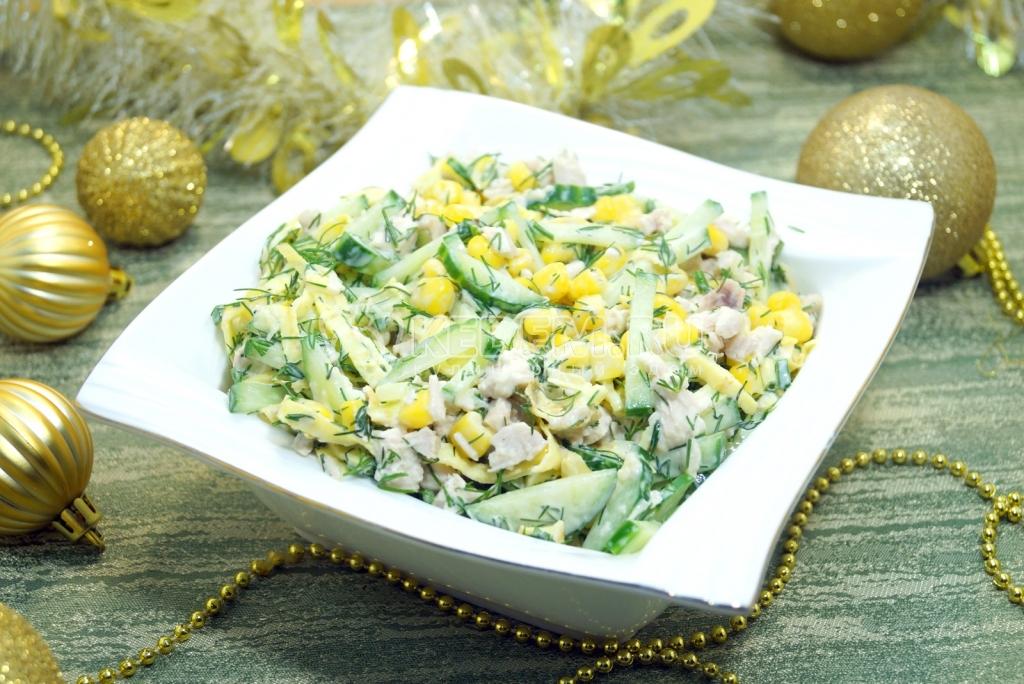 салаты рецепты салат изумрудный