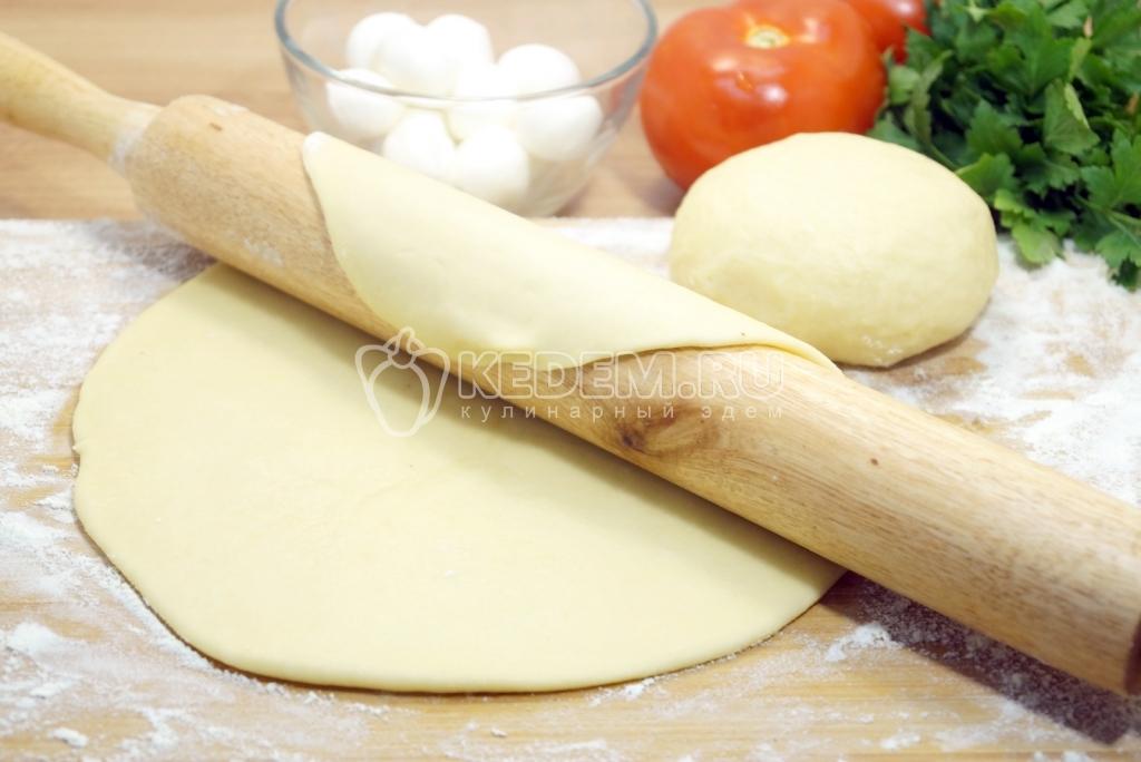 Дрожжевое тесто для пиццы пошаговое фото