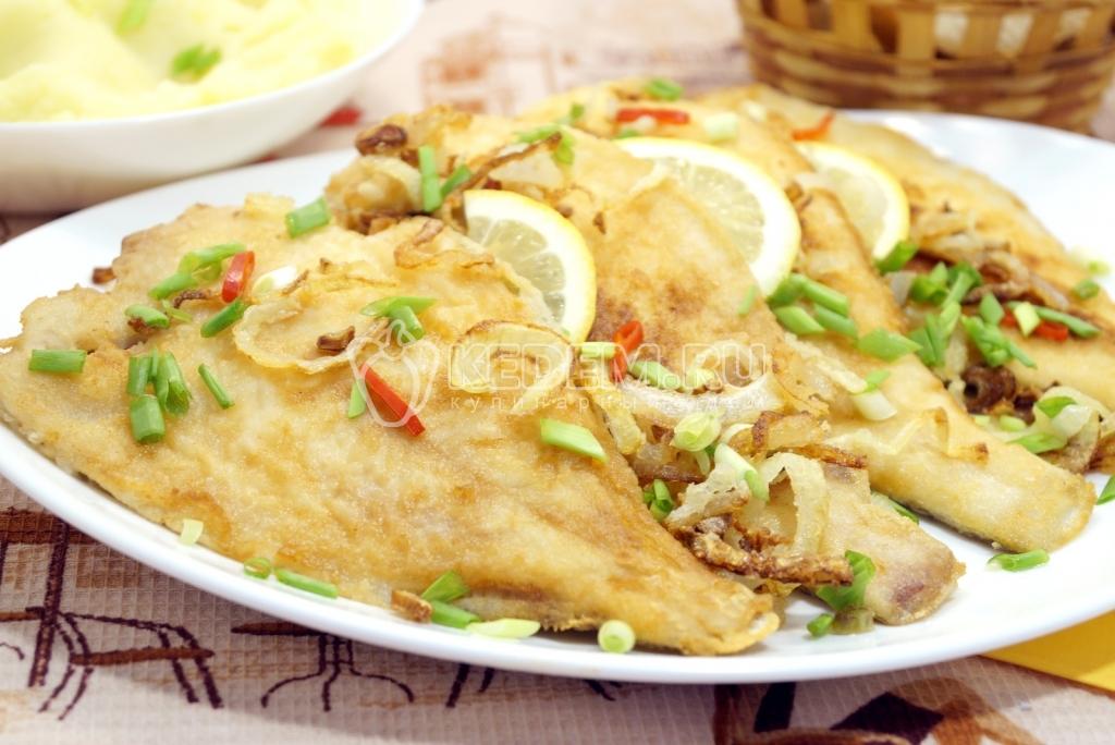 Украшенные блюда с рыбы