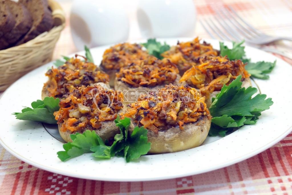 кулинария блюда из грибов рецепты