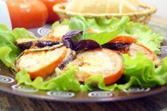 Баклажаны с помидорами и сыром «Меладжо»