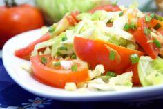 Овощной салат с ревенем «Рэнди»