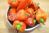Лечо из болгарского перца на зиму «Как у мамы». - Фото рецепта. Приготовление. Шаг 1