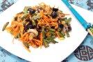Салат с корейской морковкой «Вкусно и быстро»