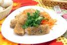 Рисовые блинчики с грибами