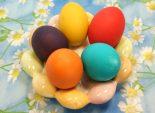 Крашенные пасхальные яйца – Рецепт как красить пасхальные яйца. – Пасхальные рецепты, рецепты на Пасху. – Пасхальные рецепты на сайте Кулинарный Эдем.