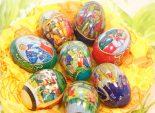 Крашенные пасхальные яйца в термопленке с рисунком – рецепт приготовления пасхальных яиц изумительной красоты.