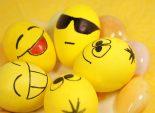 Пасхальные web-яйца - ЯЙЦА СМАЙЛИКИ – оригинальная идея для пасхальных яиц. Если Вы любитель Интернет, то эти яички Вам понравятся. Набор забавных пасхальных яиц.